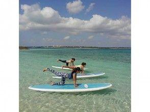 【沖縄・宮古島】初心者もOK。海の上で気持ちよくヨガ体験![SUPヨガ]の魅力の説明画像