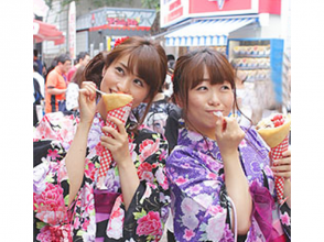 【Tokyo · Harajuku · Yukata Rental】 Girls' Union Plan in Yukata! Explanation image of charm