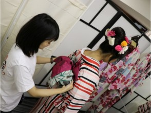[原宿,東京]走在美麗的和服原宿!和服基本計劃♪吸引力的形象描述