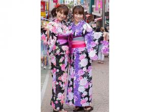 【Tokyo · Shinjuku · Yukata Rental】 Girls' Union Plan in Yukata! Explanation image of charm