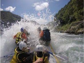 プランの魅力 Splashes of the torrent of the Kuma River! の画像