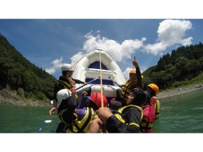 プランの魅力 Various ways to play rafting の画像