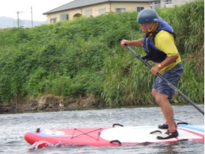 【静岡・伊豆・長岡温泉】初心者歓迎♪富士山を望む狩野川リバーSUP体験 2時間 【午前・午後コース】の魅力の説明画像