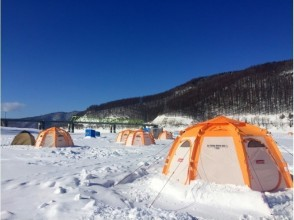 [Hokkaido Minamifurano] ☆ ☆ recommend ice smelt fishing charm of description image of the half-day tour pick-up with a plan ♪