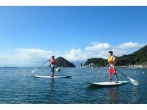 プランの魅力 The first SUP in quiet Uchiura Bay の画像