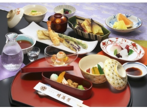 [Tokyo Harumi] attractive description image of chic houseboat experience taste in the five senses of Japan (from riding together ship / 2 persons)