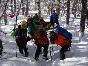 プランの魅力 Hiking in snowshoes の画像