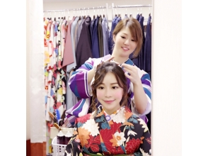 Why do not you Harajuku dating [Harajuku, Tokyo] rental kimono? ☆ couple plan ☆ charm description image