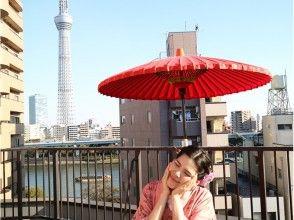 【Tokyo · Asakusa】 Yukata / Kimono rental + Kanji house ~ Feel free plan explanation picture of charm of