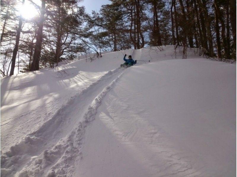 プランの魅力 天然の滑り台は迫力満点! の画像