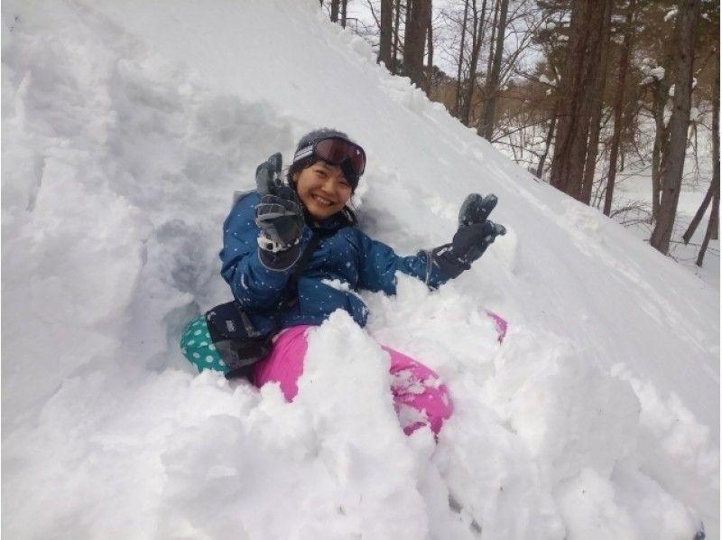 プランの魅力 フカフカ雪にジャンプ! の画像