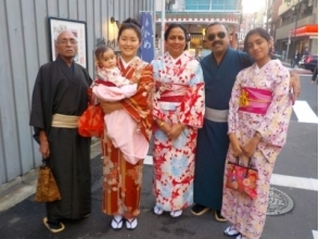 "[Asakusa, Tokyo] walk from Asakusa Station 30 seconds! Charm of description image of Asakusa stroll plan while wearing a kimono taste the atmosphere of the ""sum"""