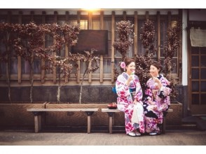 【Kanagawa · Kimono rental】 You can choose from a total of 1,000 clothes! 4 minutes walk from Kamakura station! Explanation image of the charm of walking through the ancient capital · Kamakura