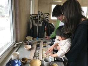 【Close to Gunma · Kusatsu Onsen ★】 Let's join in the family ★ Explanation image of charm of pottery experience (class for toddler: about 45 minutes)