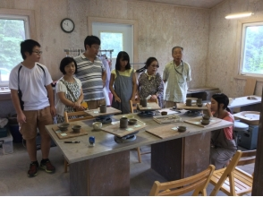 【Close to Gunma · Kusatsu Onsen ★】 Approximately 60 minutes and easy to explain the attractiveness of the pottery experience (electric wheeling experience: small class)