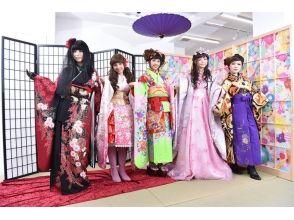 【Tokyo · Harajuku】 Harajuku Kawaii culture experience ♪ Transform shoot with an original kimono! ★ Description image of the charm of photo data gifts