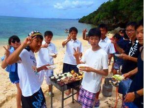 【沖縄・本部町】手ぶらでOK!!沖縄でしか味わえないビーチBBQ!!の魅力の説明画像