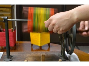 【京都市】絹糸の色合わせが楽しい!糸巻きランプシェード作り体験の魅力の説明画像