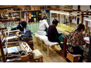 【京都市】機織り(手織り)でコースター作り!【西陣爪掻本綴織】の魅力の説明画像