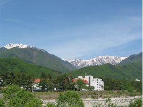 """易循環指導下的銀行的魅力形象的描述在亮點""""北阿爾卑斯山山麓Shinanoomachi"""""""