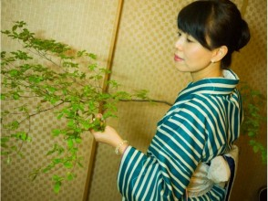 【Tokyo · Setagaya】 Explanation image of charm of Matcha Experience [Allowed only by Alien / English] after Ikebana experience & finish