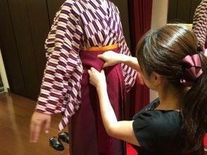 [東京五反田]東京漫步在袴圖的嚮往!隨意的袴租賃魅力描述圖像