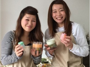 【3 minutes walk from Shijo station in Kyoto! 】 Description image of the appeal of gel botanical soy & canolé candle making experience
