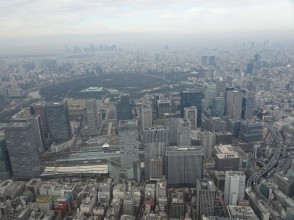 [Tokyo · Shinkiba] Large panorama from the sky! Explanation image of helicopter Tokyo tour [flight time: 15 minutes] charm