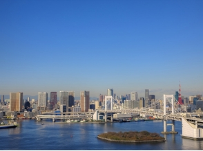 [Tokyo · Shinkiba] Let's look at the places from the sky! Explanation image of helicopter Tokyo / Yokohama Tour [flight time: 30 minutes] charm