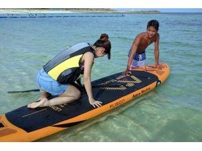 人気急上昇'「SUP」那覇から30分! 西原町きらきらビーチでお手軽体験!沖縄 サップの魅力の説明画像