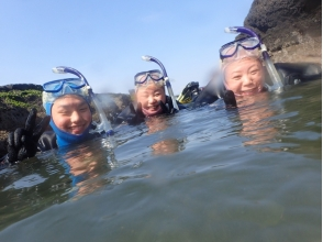 【Kanagawa · Miura · Snorkeling】 If you have swimwear and towels OK! Everything is easy to explain Description image of easy-going sea play