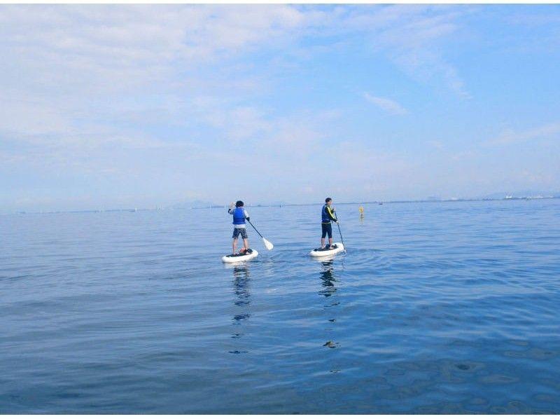 プランの魅力 広くて穏やかな琵琶湖でゆったりとSUP! の画像