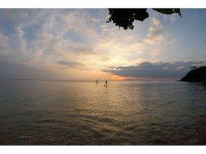 プランの魅力 The sunset seen by SUP is exceptional! の画像