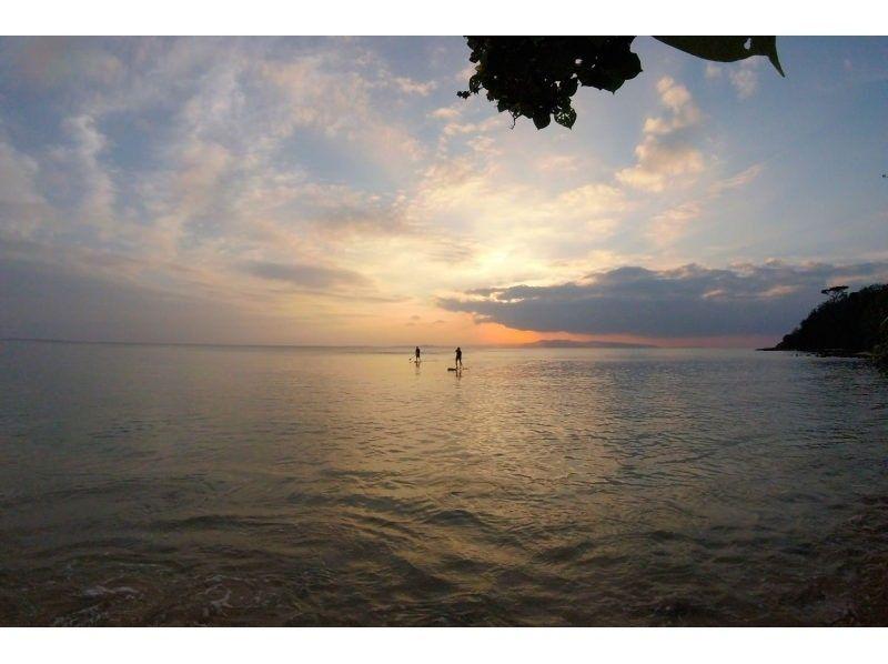 プランの魅力 SUPで見る夕日は格別! の画像