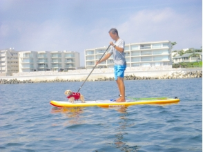 "【Kanagawa · Hayama】 A lot of private feeling! Explanation image of the attraction of ""superb view & comfortable SUP cruising"""