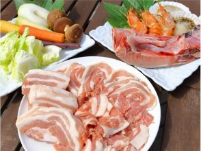 【BBQ · Miura】 OK by hand! Local produce BBQ sticking to quality, taste and price! Description image of charm with unlimited drinks