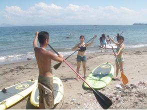 【神奈川・三浦海岸】誰でもすぐにできる海上散歩! SUP体験の魅力の説明画像