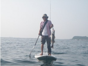 プランの魅力 SUPで釣り の画像