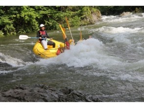 [Hokkaido Furano] enjoy the OK ♪ »Sorachi river rafting - Hokkaido's leading wilderness from «5 years old - of the charm of the description image