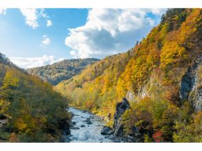 【北海道・富良野】北海道トップクラス‼激流鵡川ラフティング 「入浴券付」の魅力の説明画像