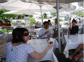 プランの魅力 Break time at a cafe on the riverside の画像