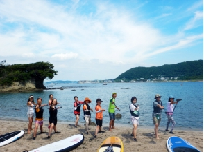【Kanagawa · Hayama】 A beautiful ocean full of private feeling! Experience SUP Class / 1 Description Image of Charm of Attached (1 hour)