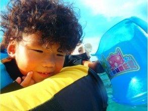 プランの魅力 4歳は浮き輪の上で! の画像