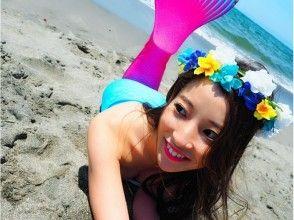湘南でマーメイド(人魚)撮影 3,800円の魅力の説明画像