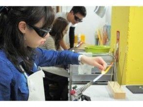 【東京・吉祥寺】バーナーワークで耐熱ガラスの指輪作り♪当日持ち帰り可!(1時間)の魅力の説明画像