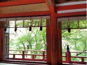 【奈良・伝統文化体験】「談山神社」勅使の間での特別参拝の魅力の説明画像