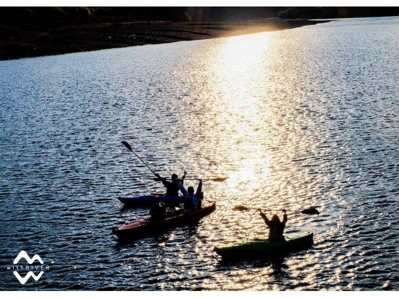 プランの魅力 夕暮れカヌー の画像