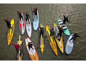 【滋賀・琵琶湖】SUP(サップ)半日体験スクール♪『びわ湖』で体験♪【初めての方、お一人様大歓迎!】の魅力の説明画像