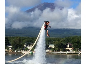 【Yamanashi】 Only in Lake Yamanaka! It is! Plenty of satisfaction! Explanation image of charm of jet pack experience (beginner's course: about 30 minutes)