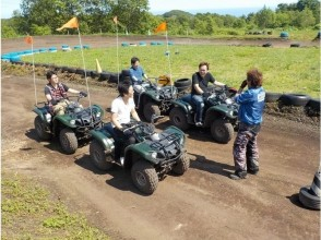 [Hokkaido Noboribetsu] attractive description image of a four-wheel buggy (free course)